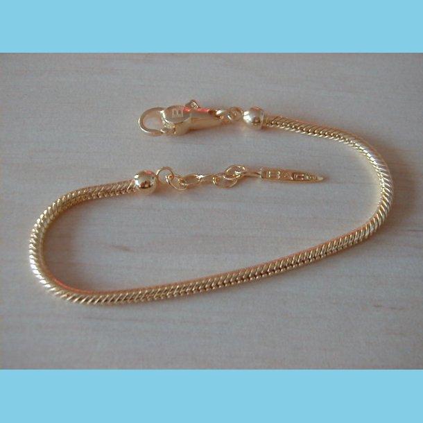 Guld Armbånd Bacio Italy