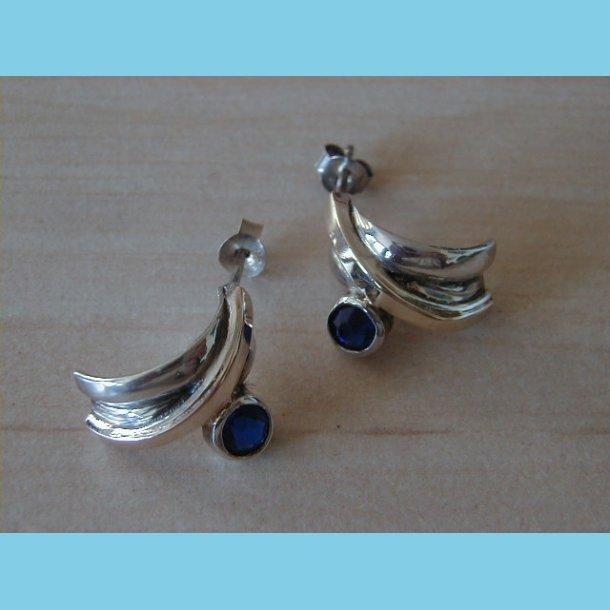 Sølv og Guldørering med Sten