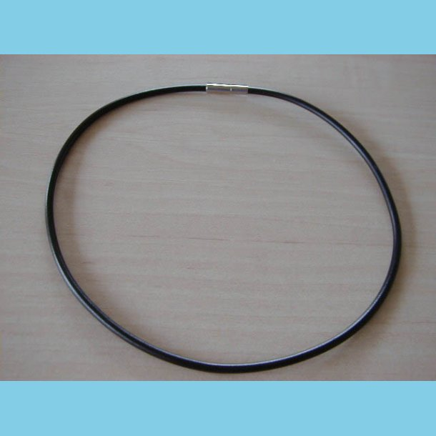 Læder Halskæde 40 cm Engros 10 stk.