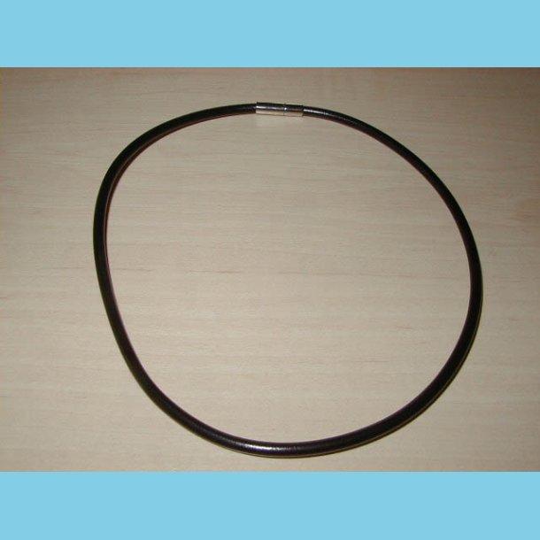 Læder Halskæde 40 cm