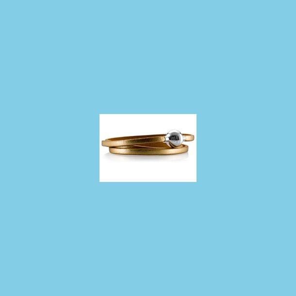 Bacio Masai Armbånd eller Halskæde Guldfarvet