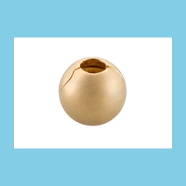 Bacio Guldbelagt Klips Oval