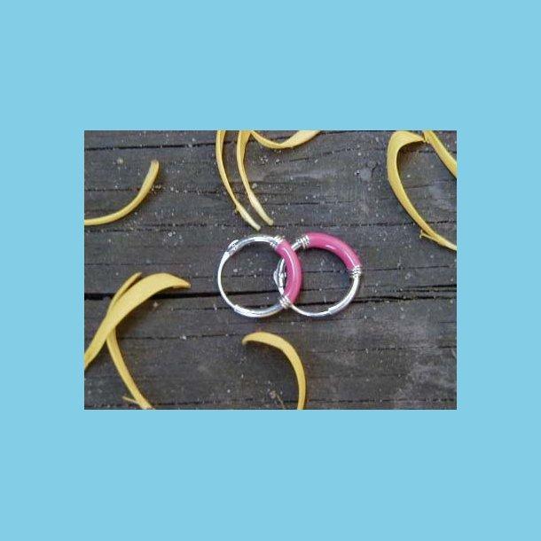 Øreringe NN00EN lyserød