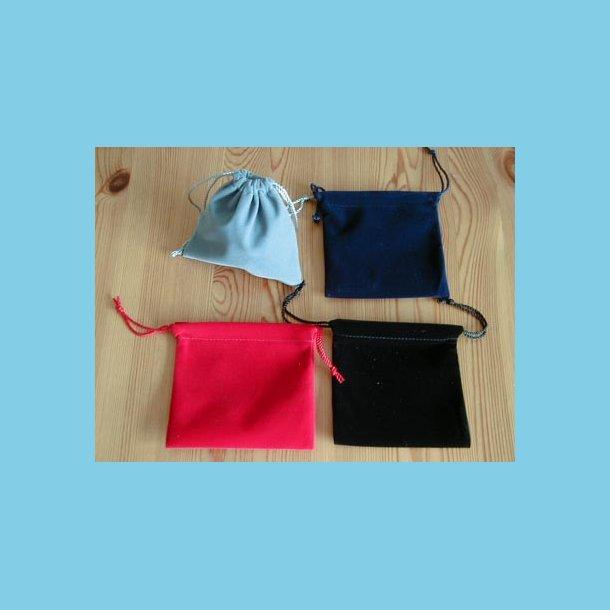 12 stk Fløjlsposer store