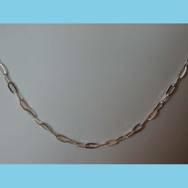 Oval Rings Halskæde 45 cm
